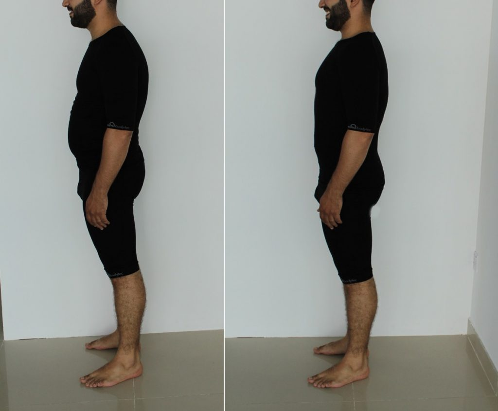 ems workout back pain relief