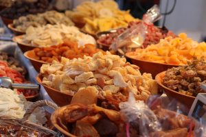 dried fruits - what to eat before EMS workout
